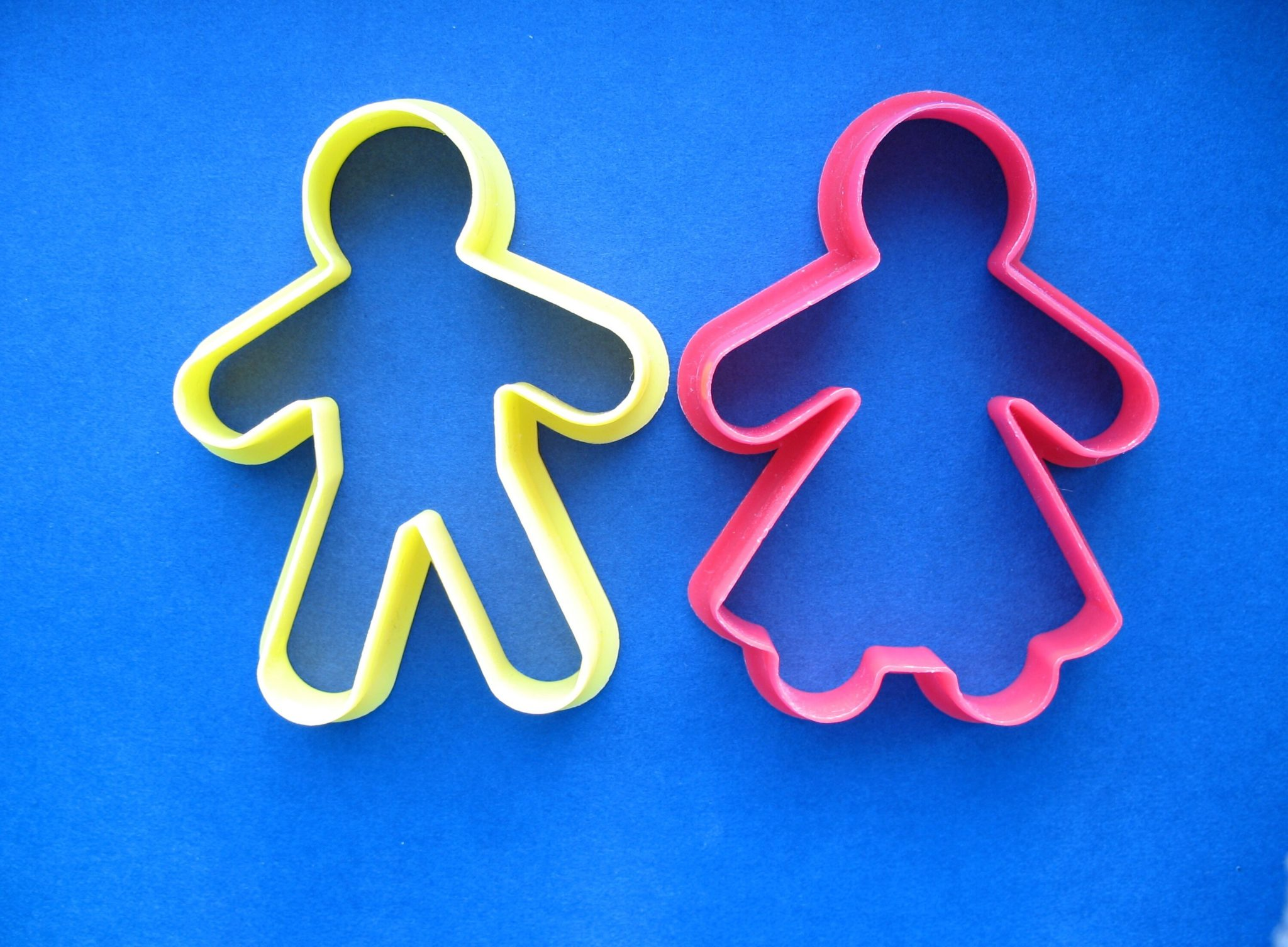 Cookie cutter people.