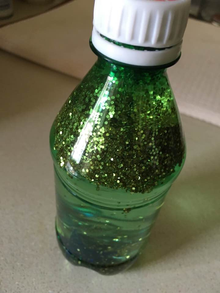 Sparkly Sensory Bottle