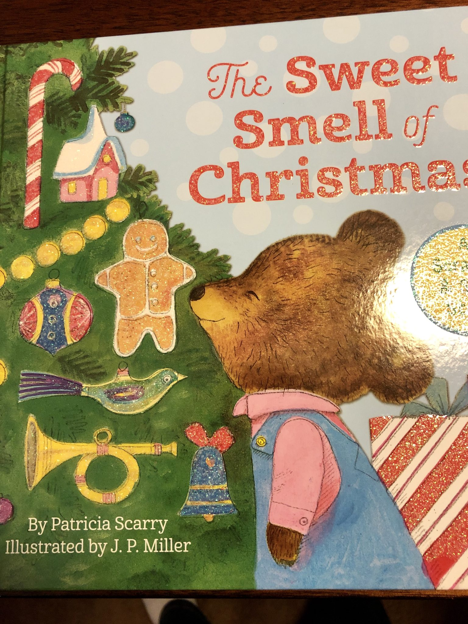 The Sweet Smell of Christmas book cover.