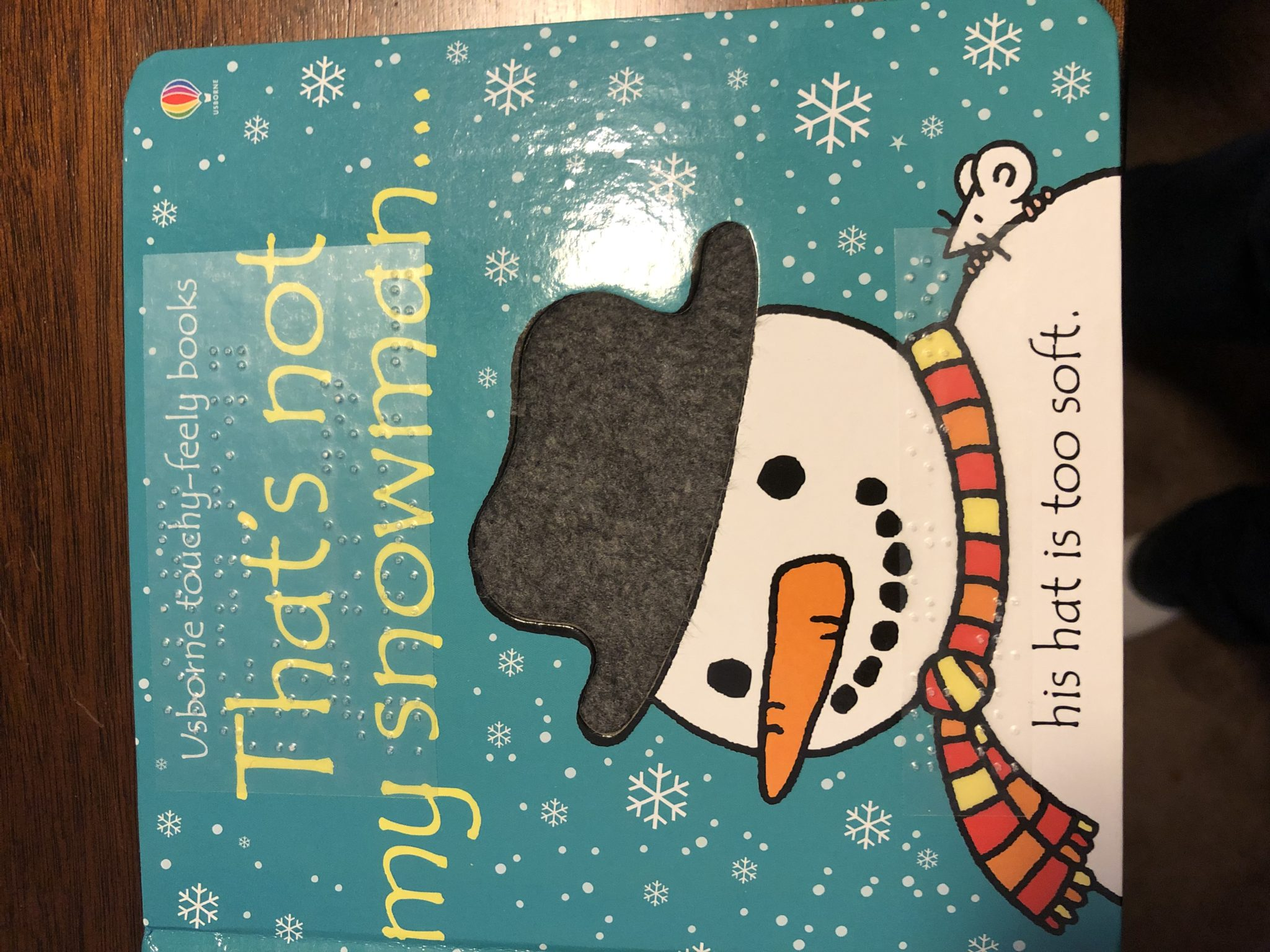 That's Not My Snowman book cover.