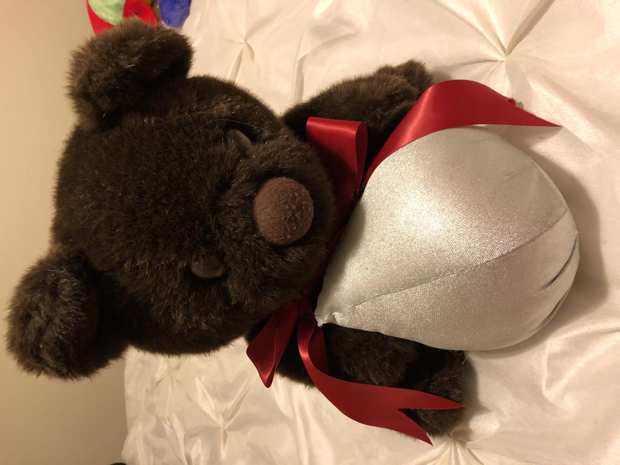 Hershey kiss bear