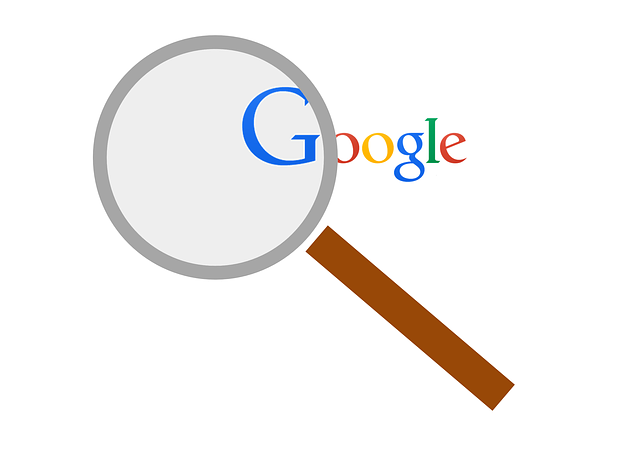 Magnifying glass, Google
