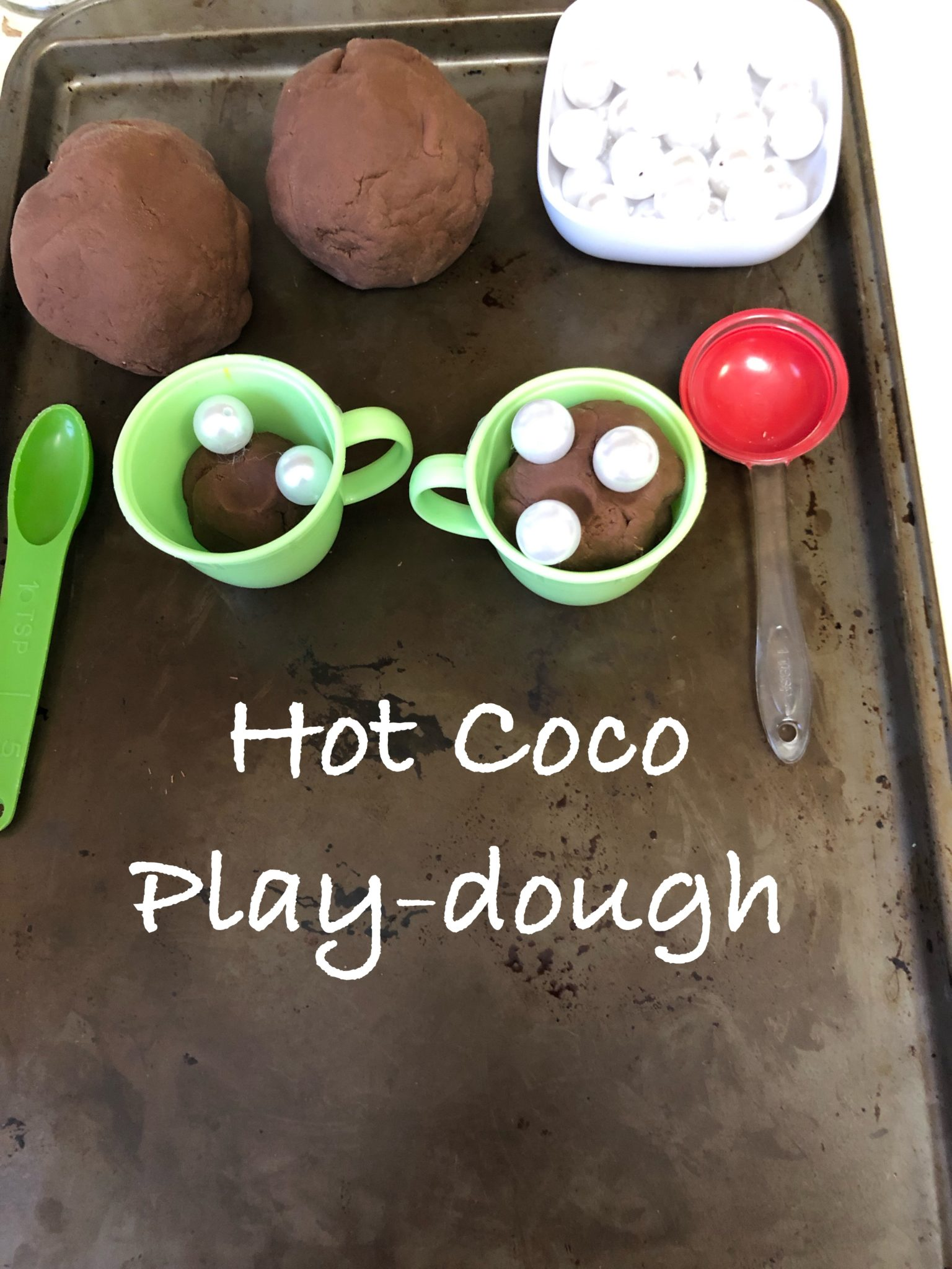 Hot Coco Play-dough