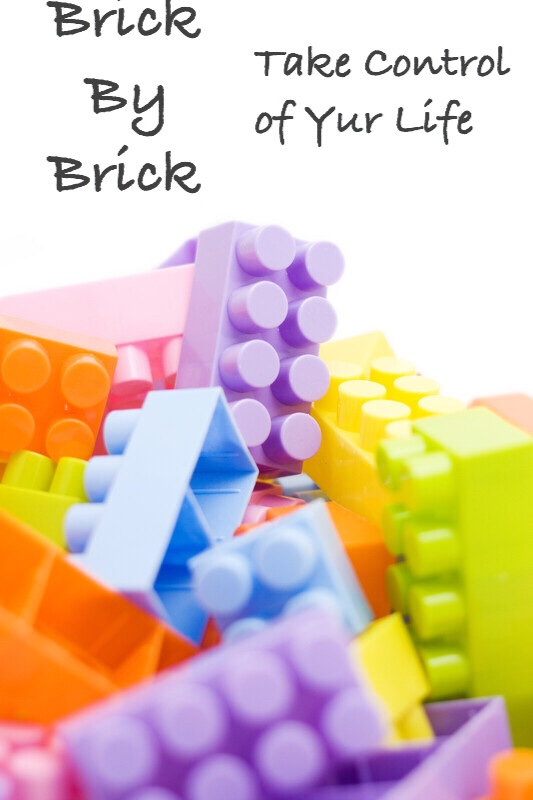 Lego blocks, Brick by Brick, pinnable.