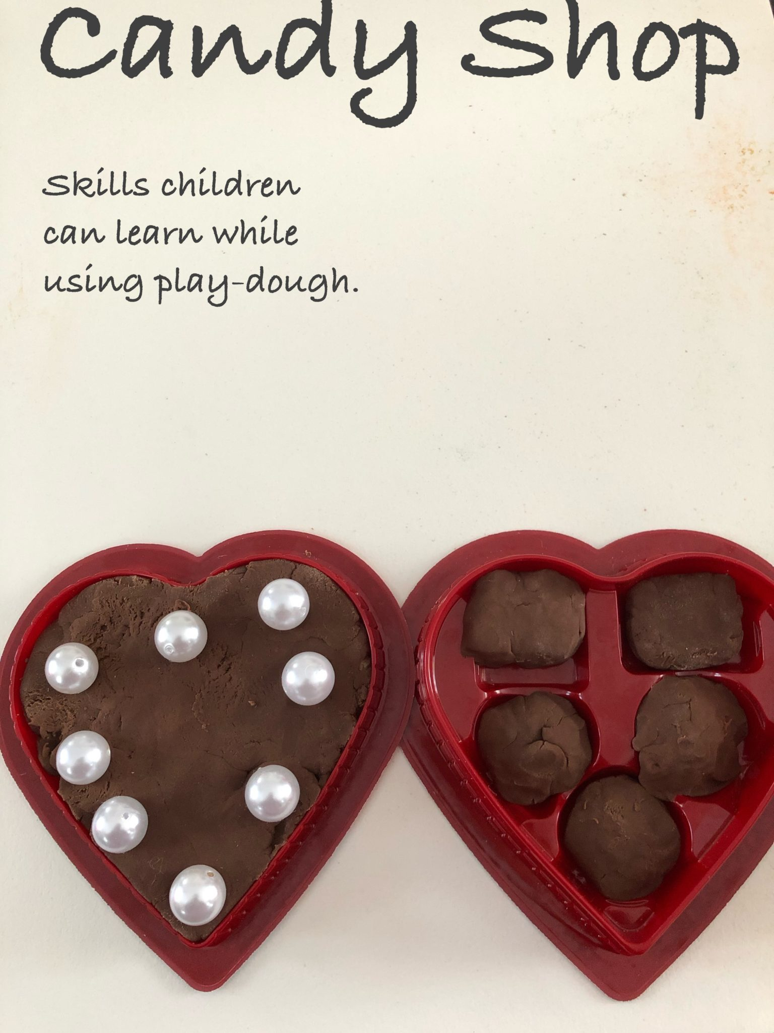 Play-dough Candy Shop pin