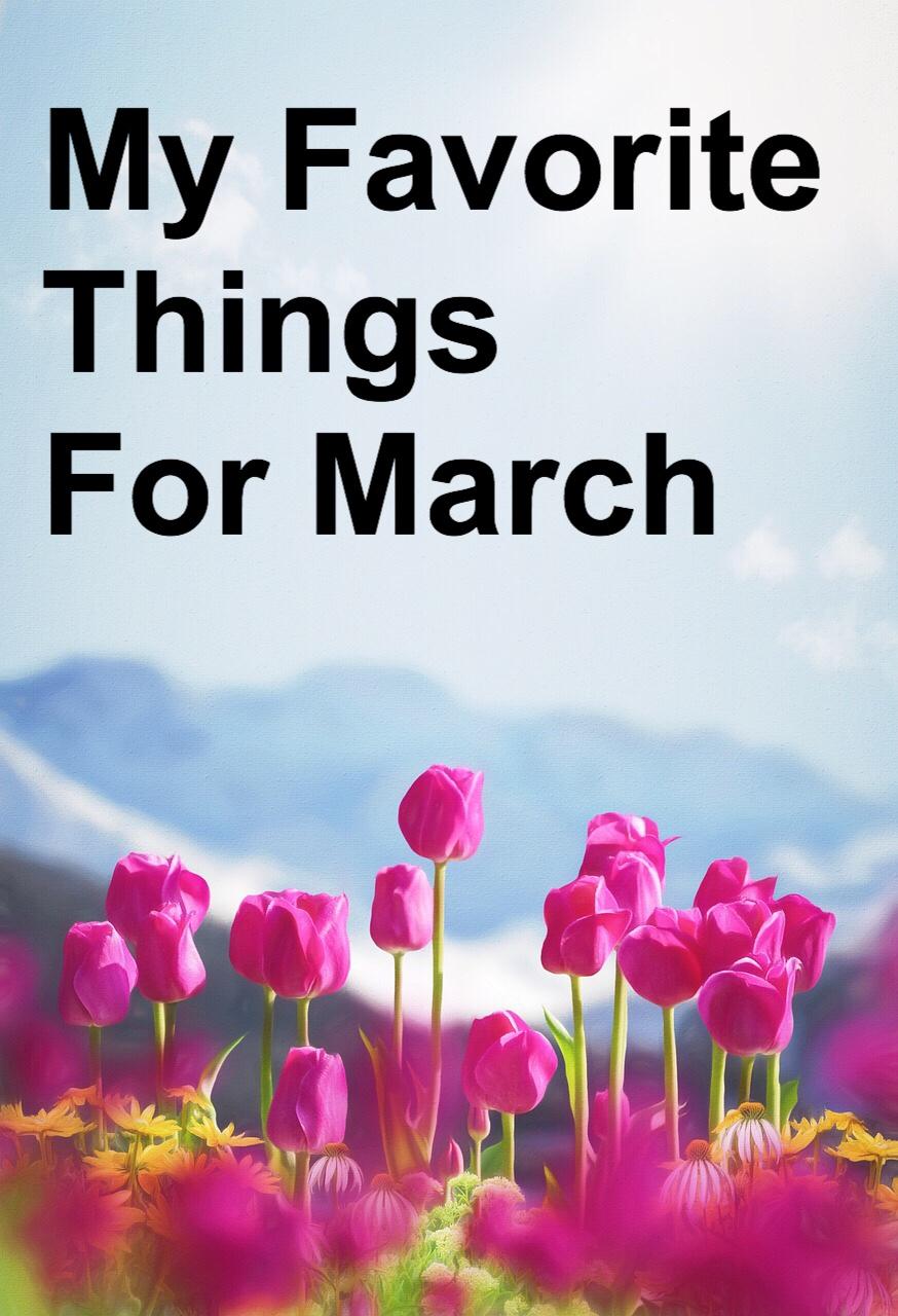My Favorite Things Spring Pin