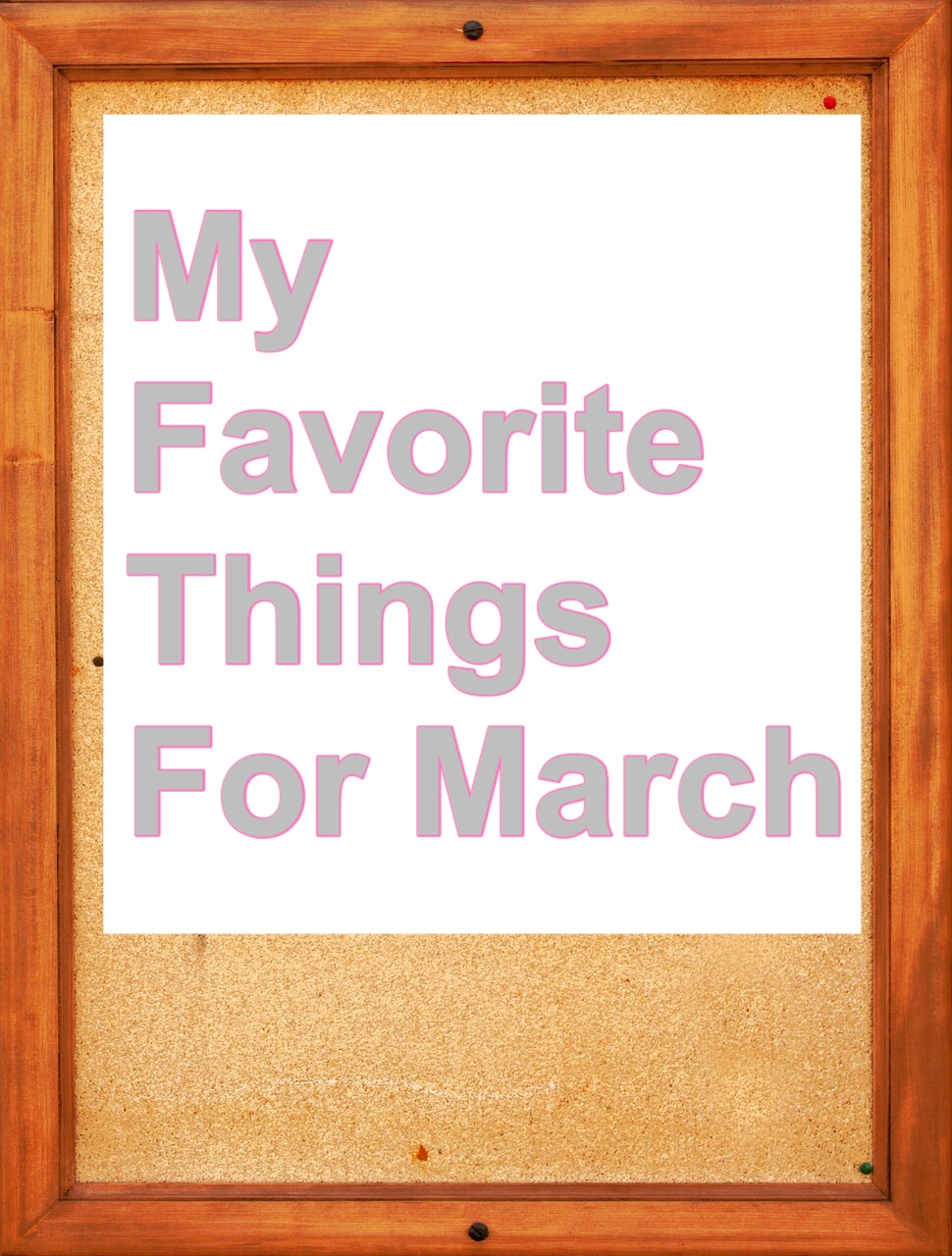 My Favorite Things bulletin board pin