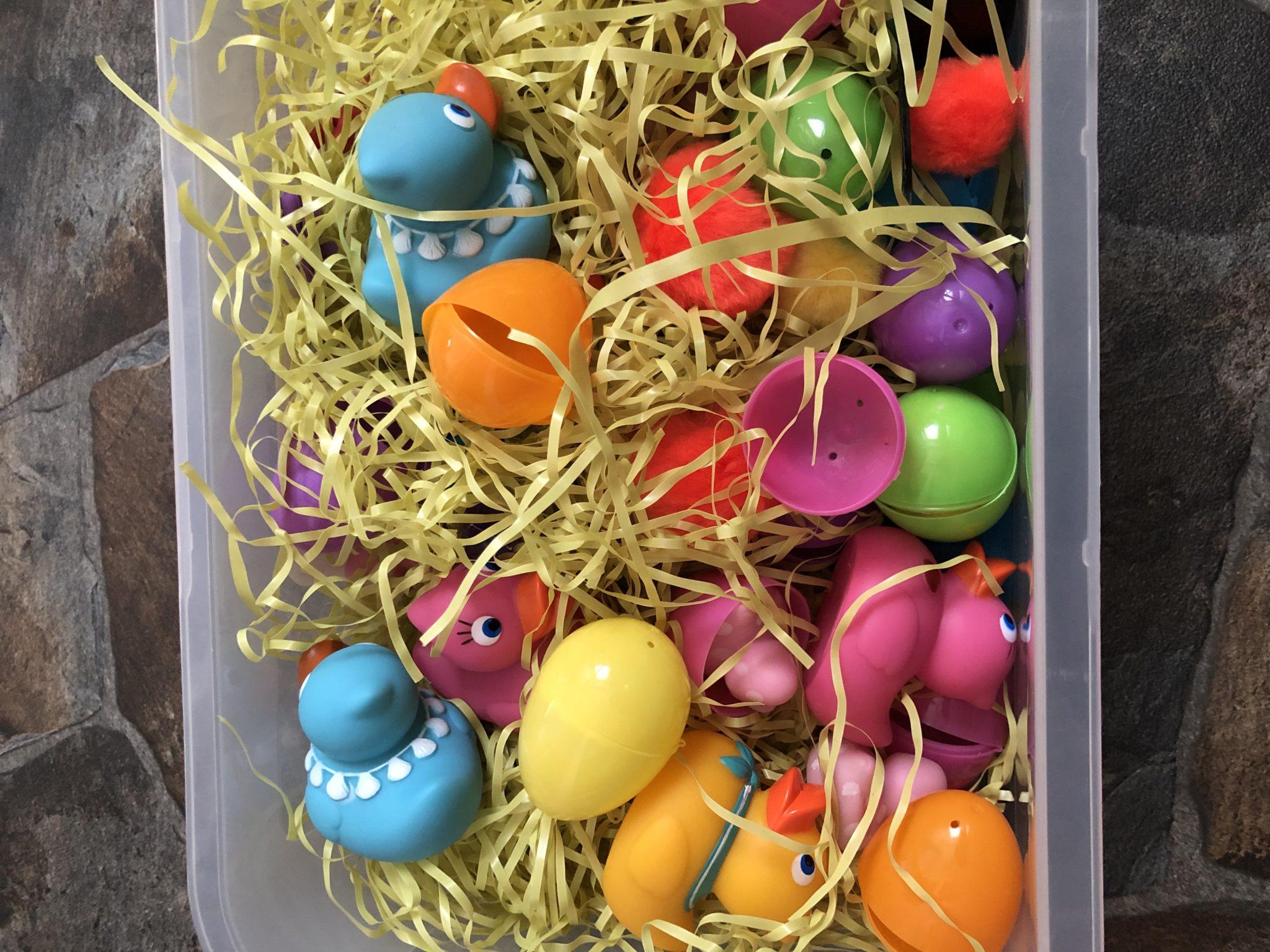 Easter Spring Sensory Bin