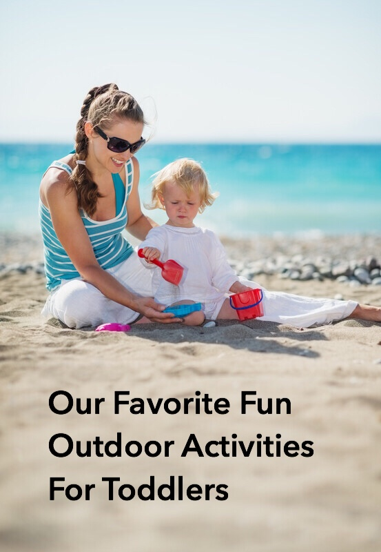 Favorite Fun Outdoor Activities for Toddlers Sand pin