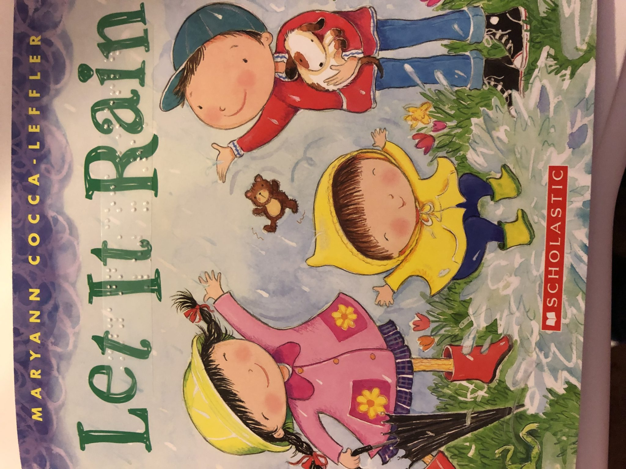 Let It Rain book cover