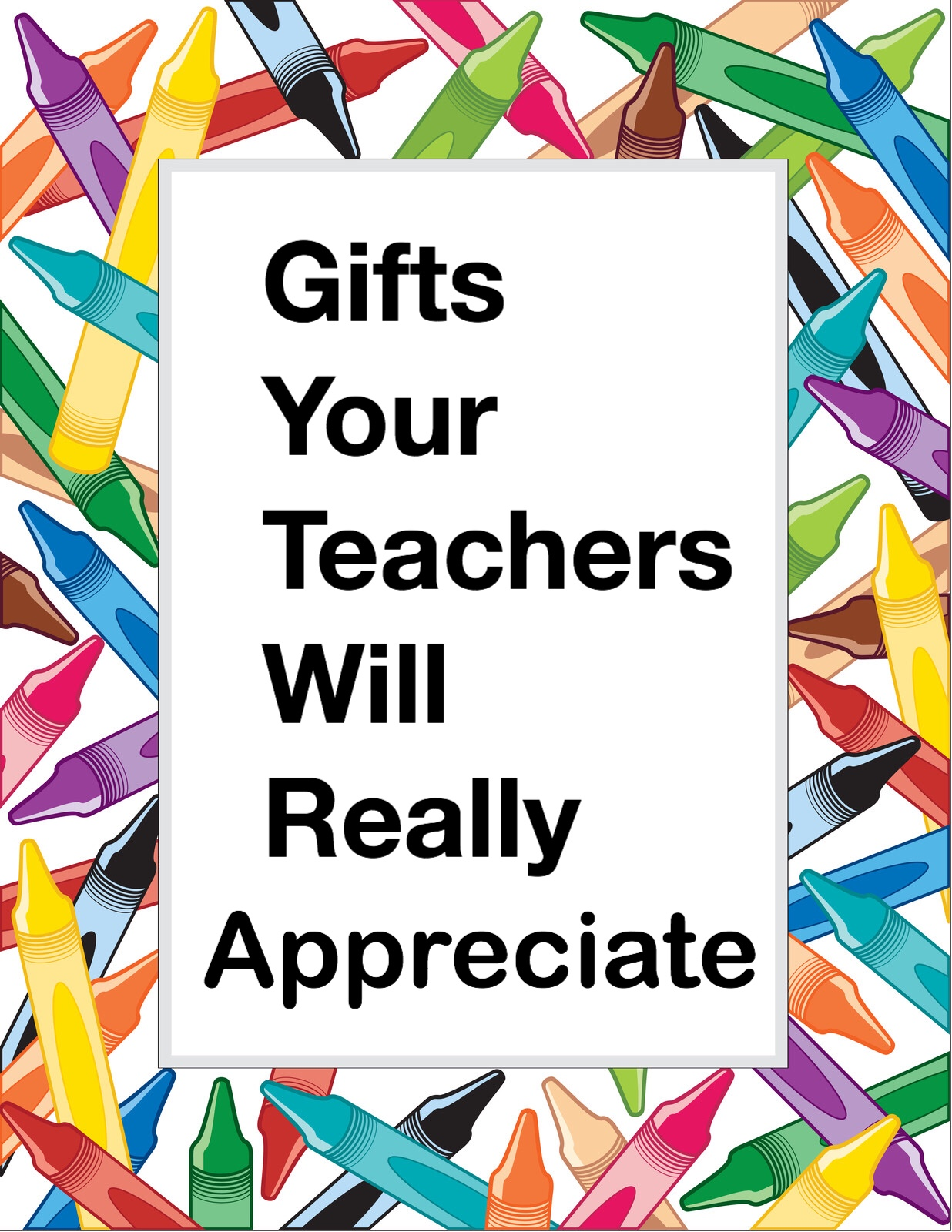 Gifts Your Teachers Will Really Appreciate Pin