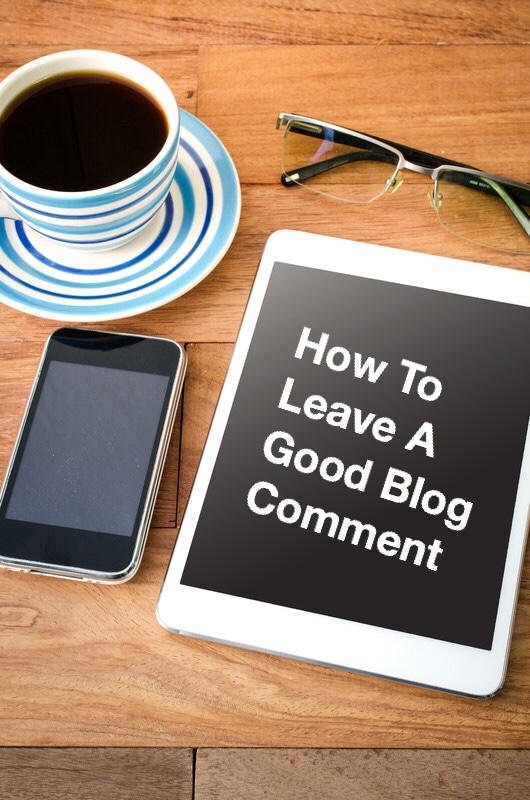 How To Leave a Good Blog Comment (Pin)