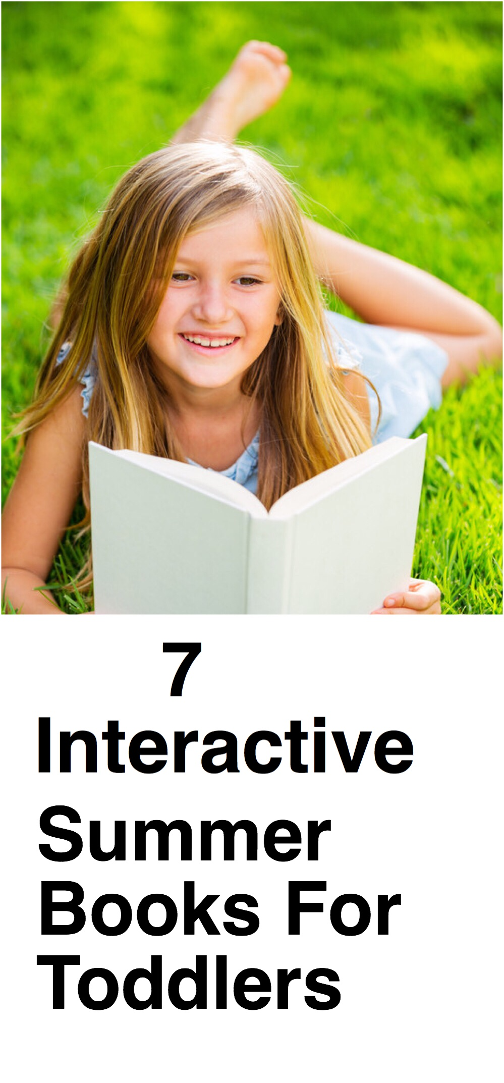 7 Interactive Summer Books pin