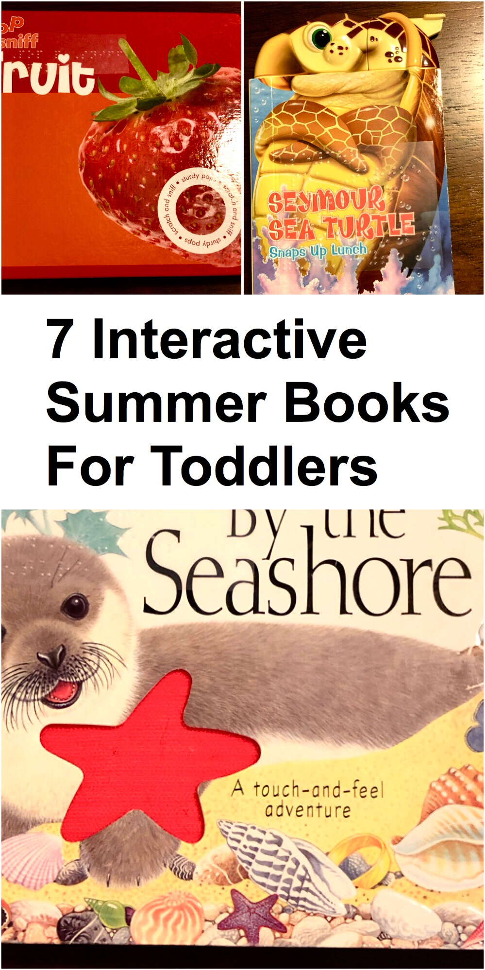 7 Interactive Books pin