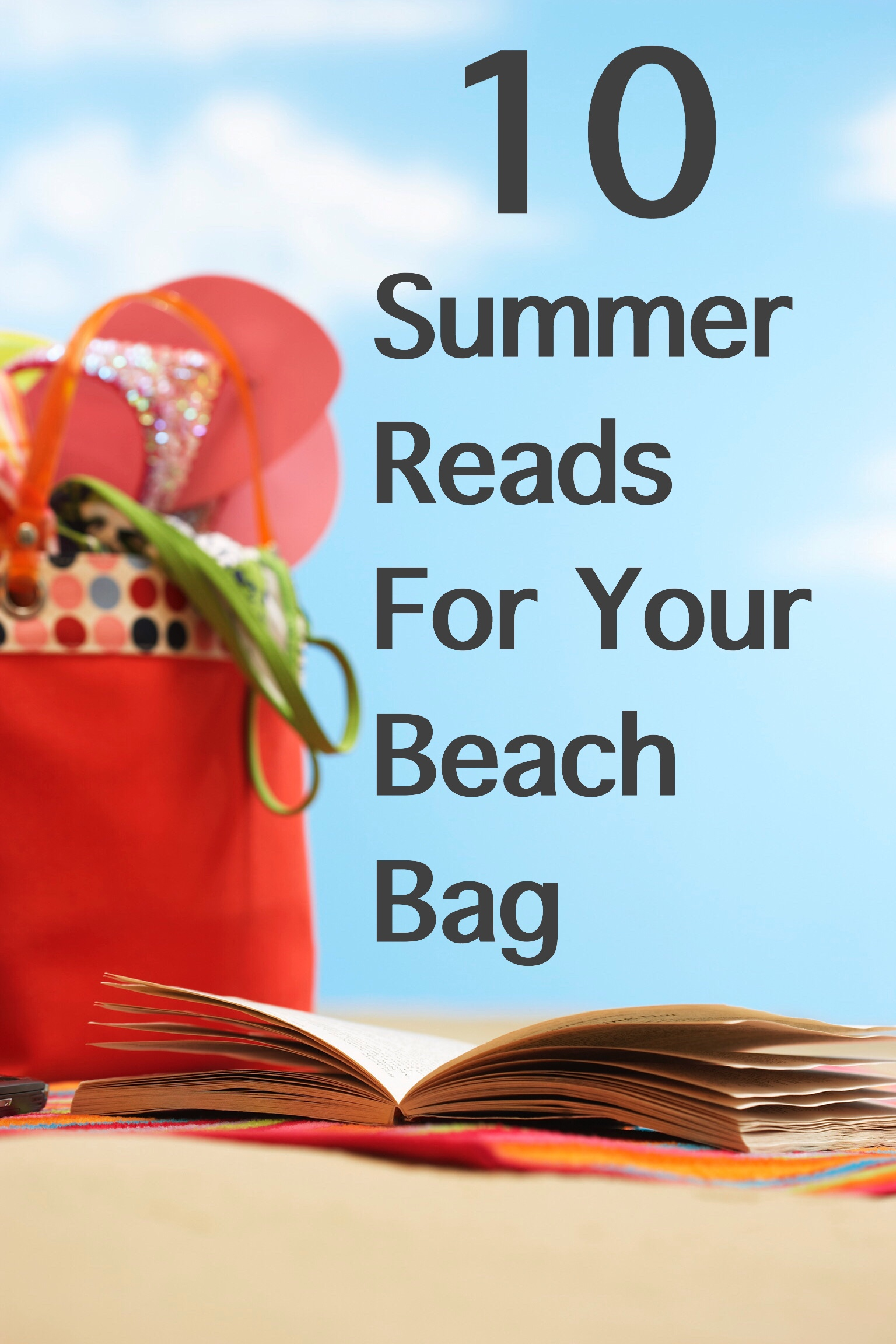 10 Summer Reads pin