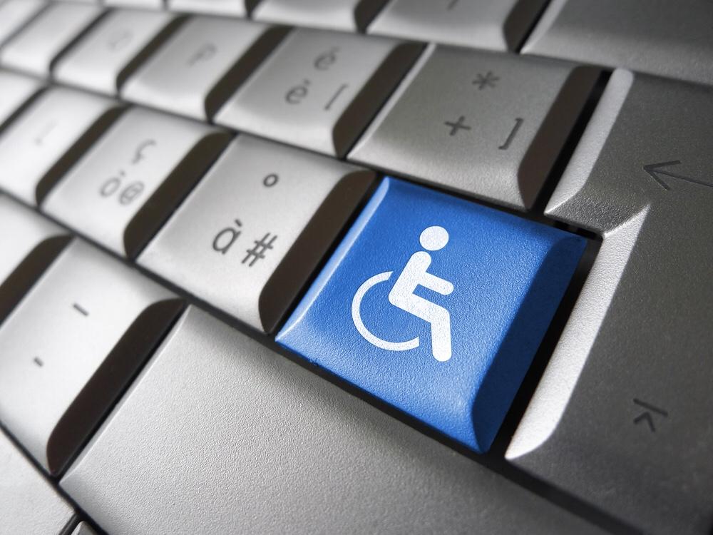 Web accessibility key