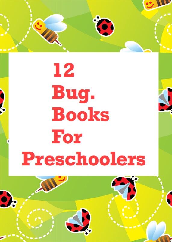 12 Bugs for Preschoolers pin