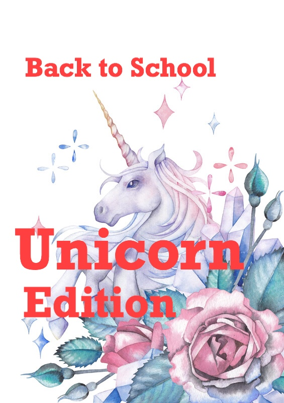 Unicorn Edition: Water color unicorn pin