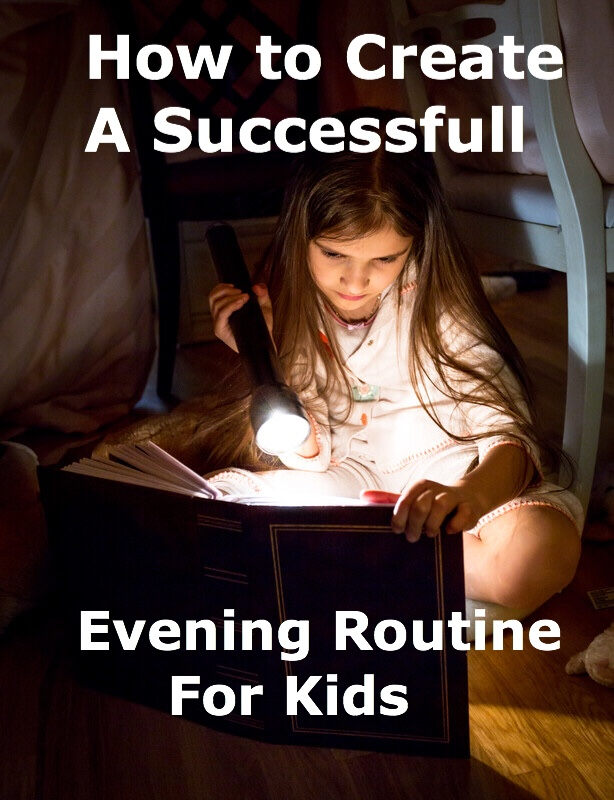 How to create Evening Routines pin