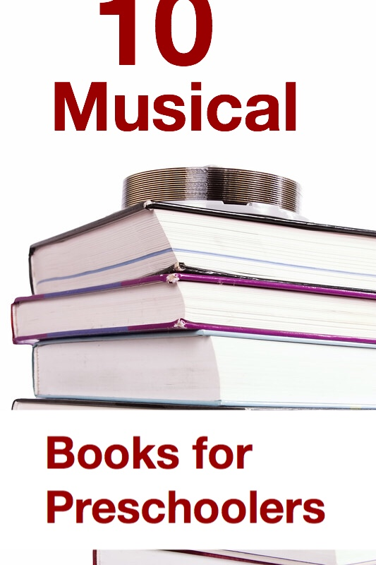 10 musical books for preschoolers pin
