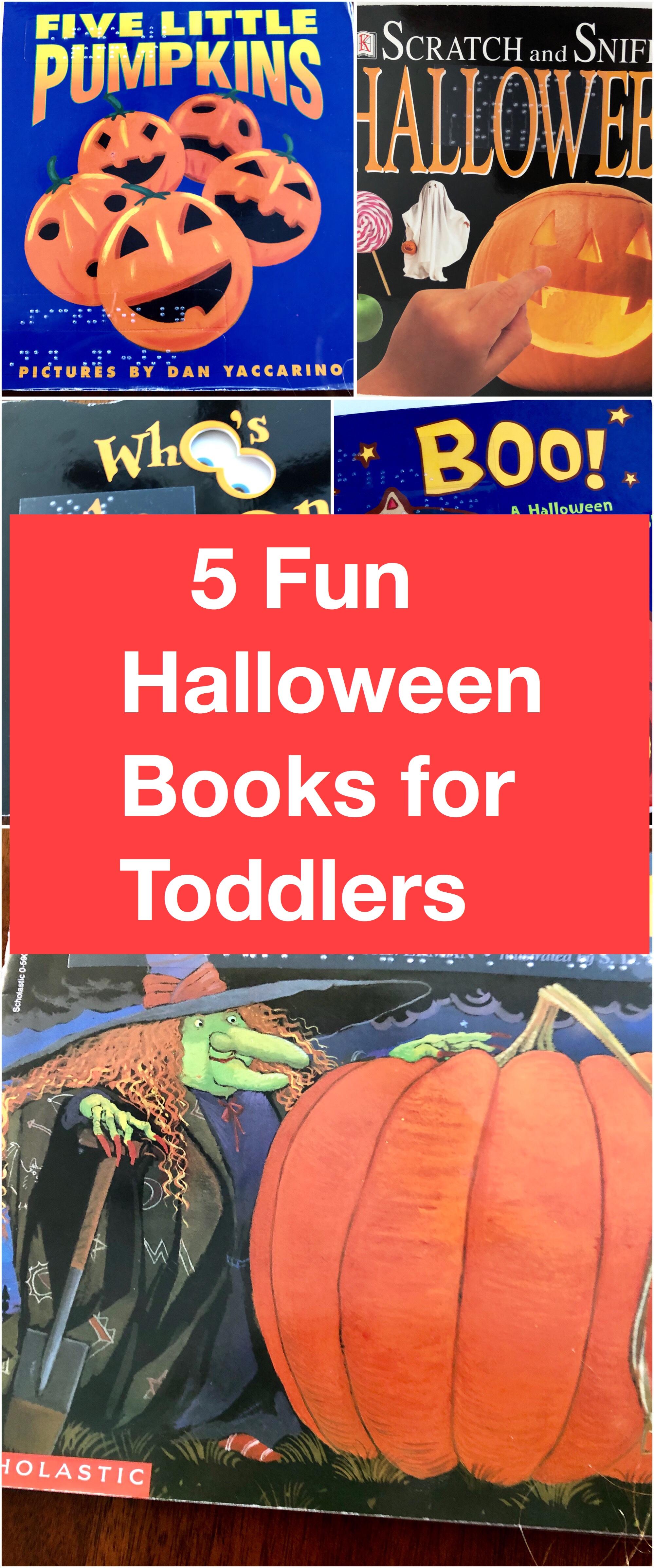 5 fun Halloween books pin