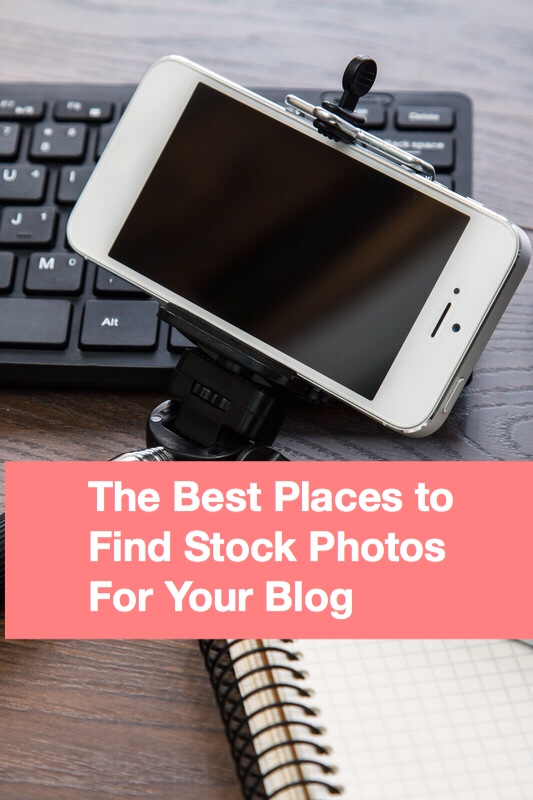 The best places to find stock photos pin