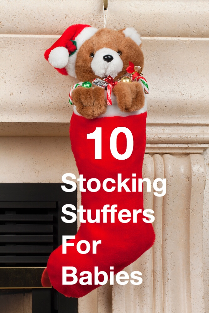 10 Stocking Stuffers for Babies pin
