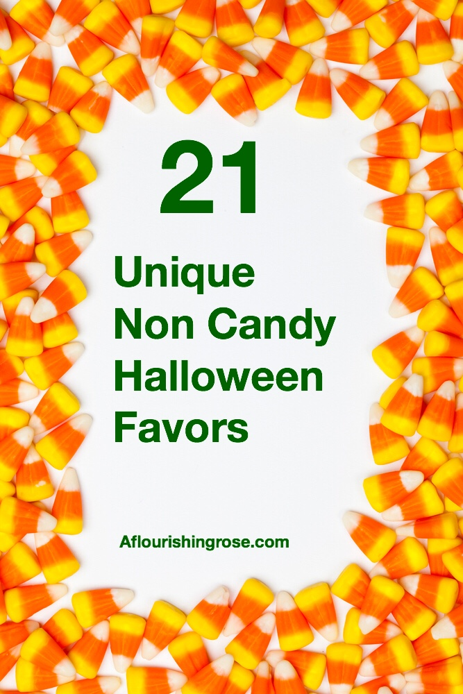 21 unique non candy Halloween favors pin
