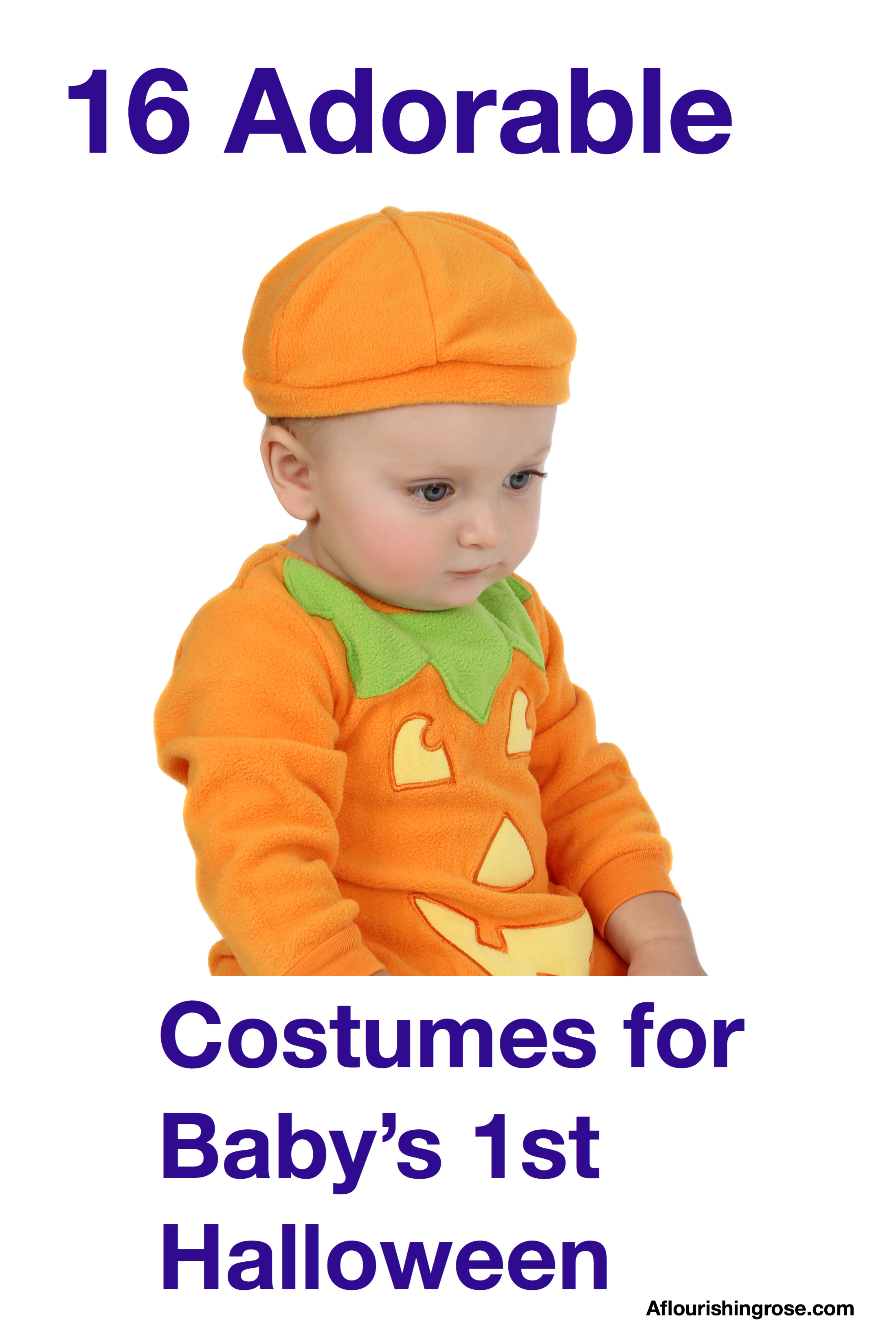 16 Adorable Costumes for Baby's 1st Halloween pin
