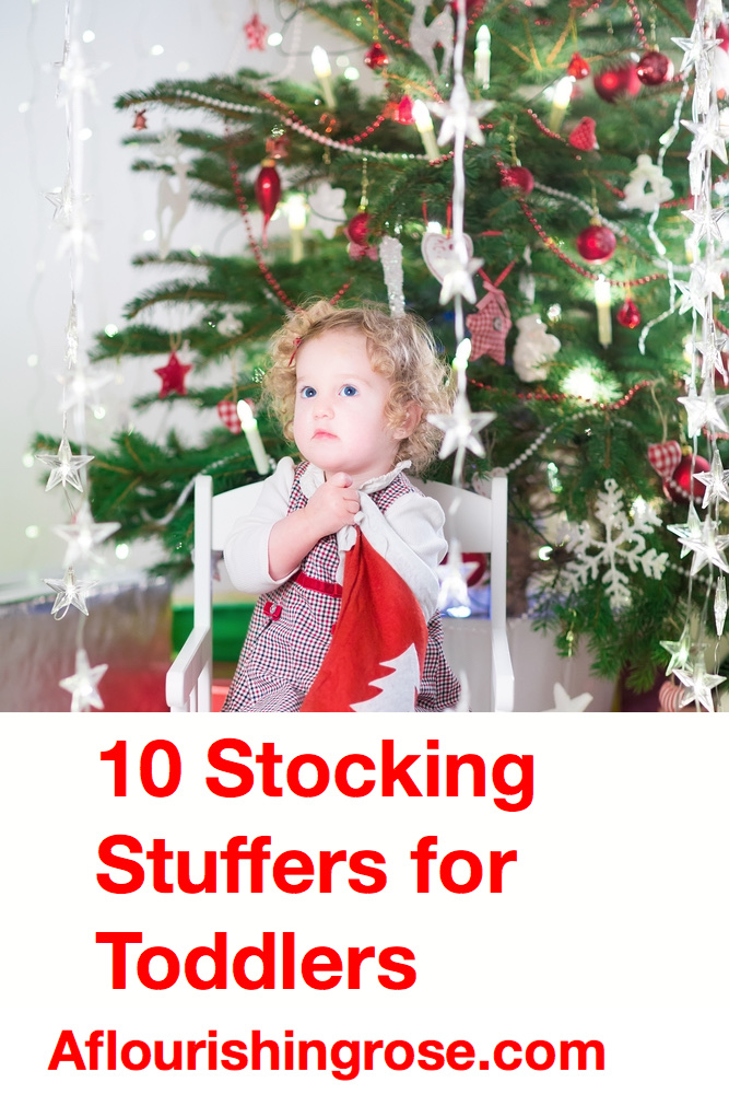 10 Stocking Stuffers for Toddlers pin