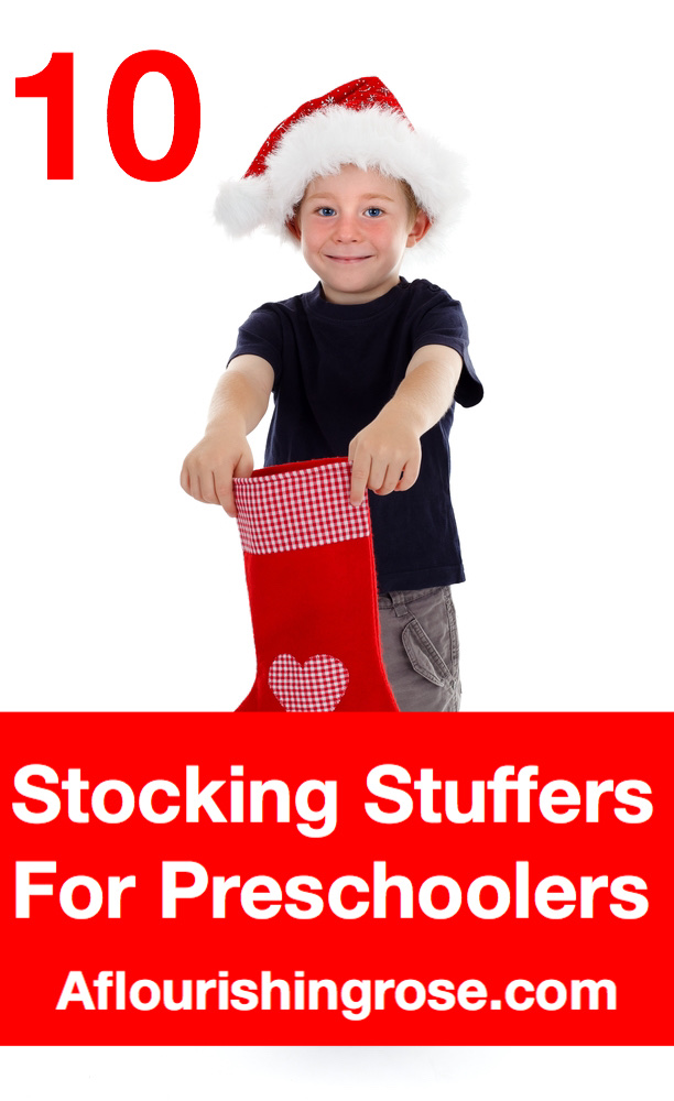 10 stocking stuffers for preschoolers pin