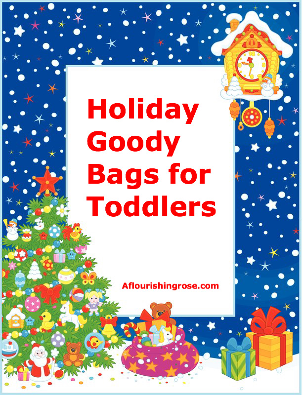 Holiday Goody Bags for Toddlers