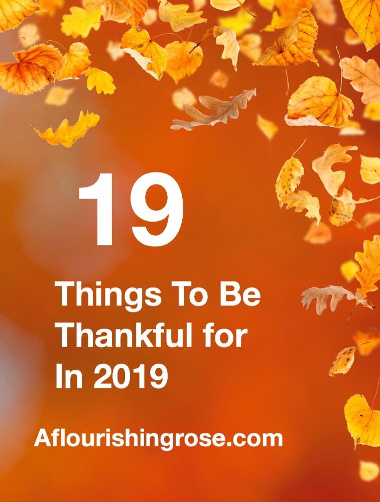 19 Things to be Thankful for in 2019