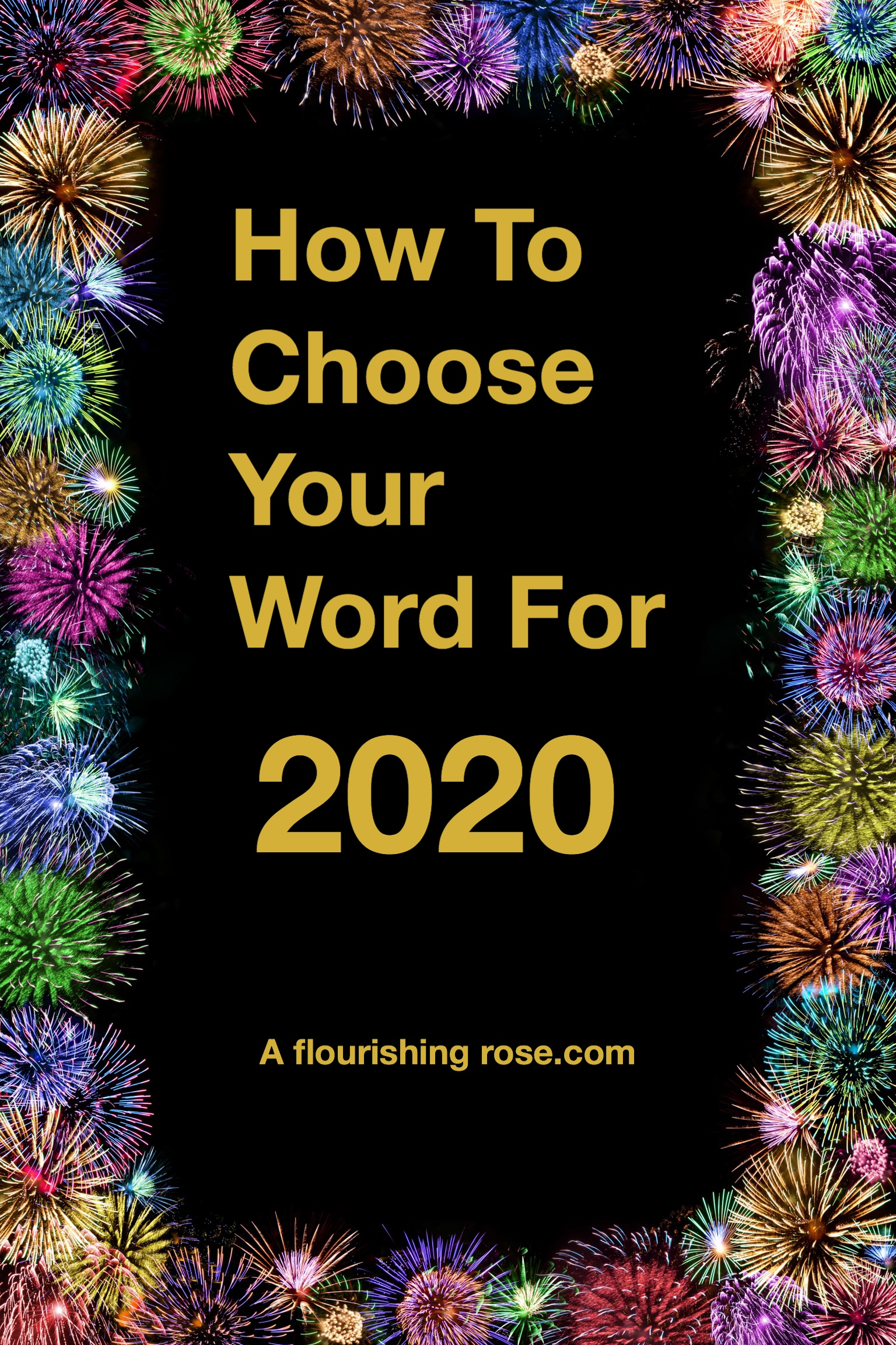 How to Choose Your Word for 2020