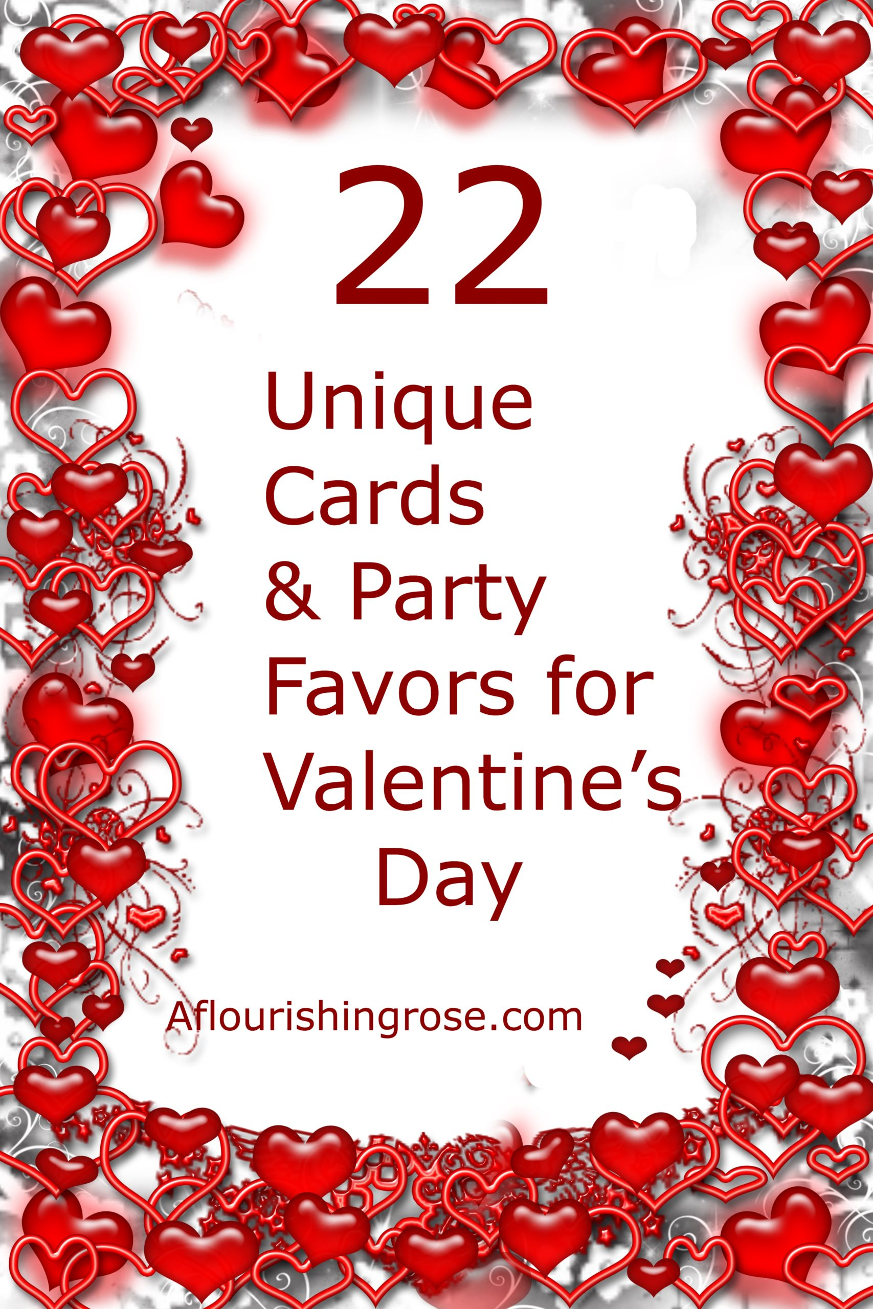 22 Unique Cards and Party Favors for Valentine's Day
