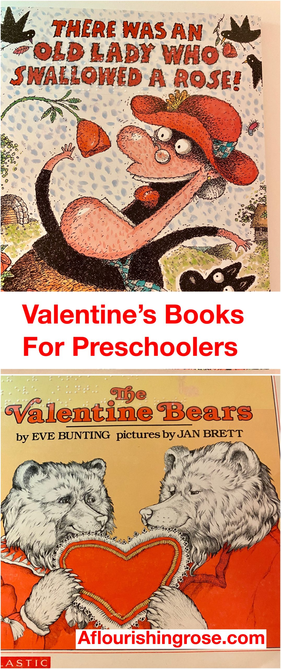 Valentine's Books for Preschoolers